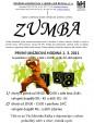 Plakát Zumba v Lipníku nad Bečvou